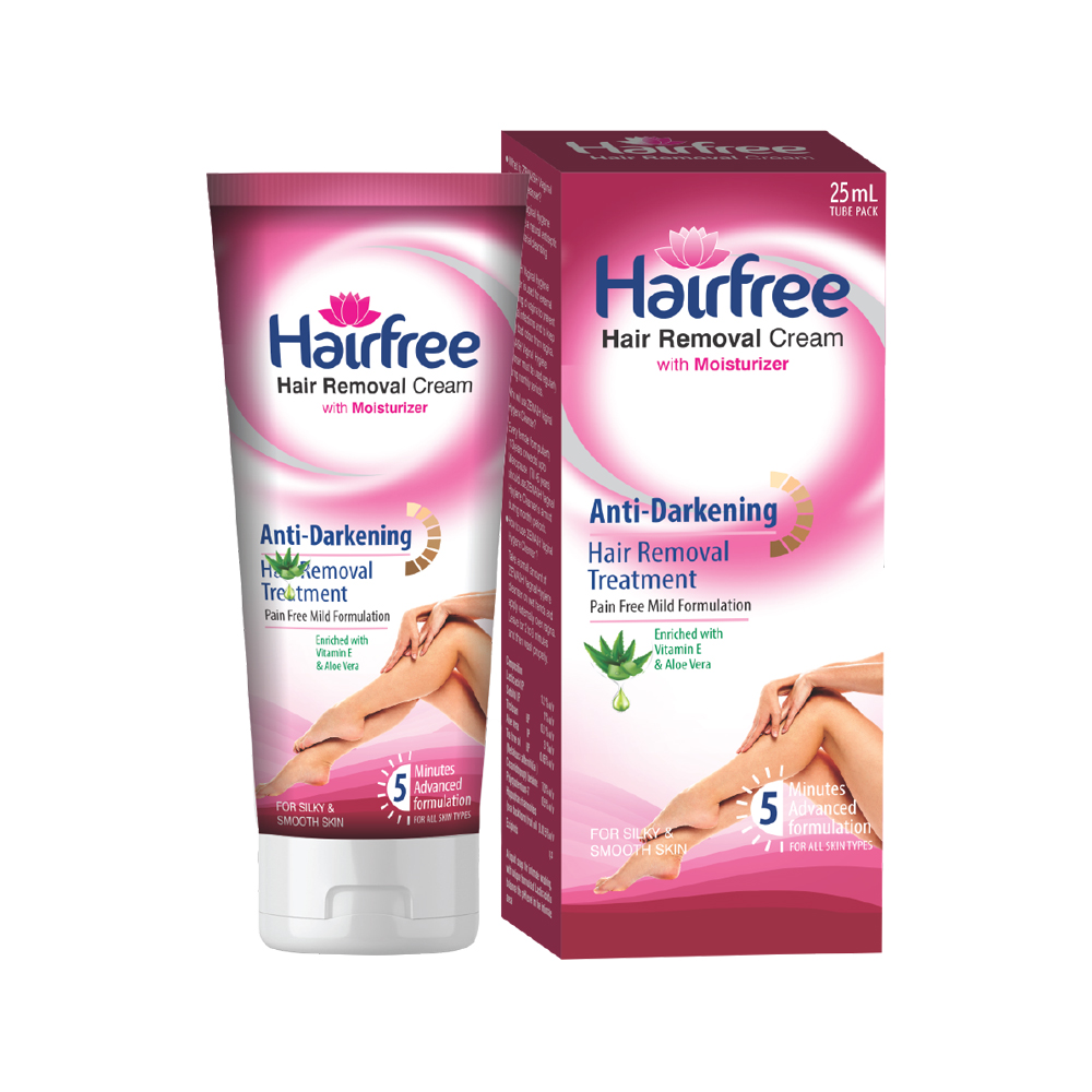 Hairfree-Hair Removal Cream Review