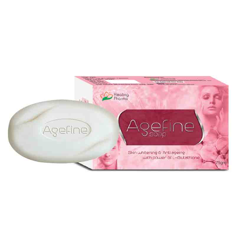 anti ageing and skin whitening fairness soap
