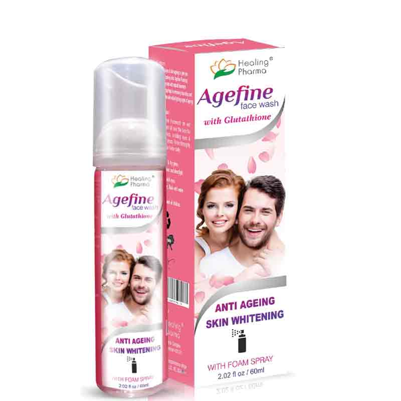 Anti ageing and skin whitening facewash online