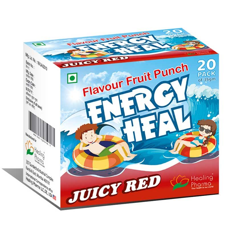 Energy Drink Powder Fruit Flavor For Adults & Kids - Energy Heal - Nutrition Energy Powder in India
