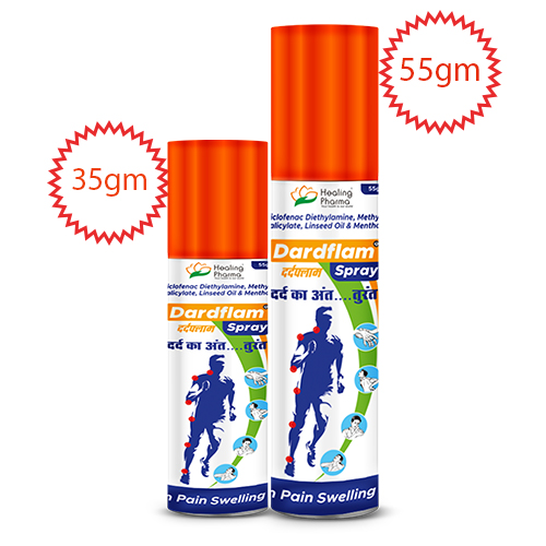 Buy Fast Pain Relief Spray Online - Dardflam Spray - Muscle & Joint Pain Relief Spray